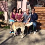 Madame Guylaine Jammes et famille