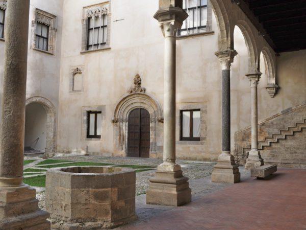 Corte centrale del Palazzo Abatellis